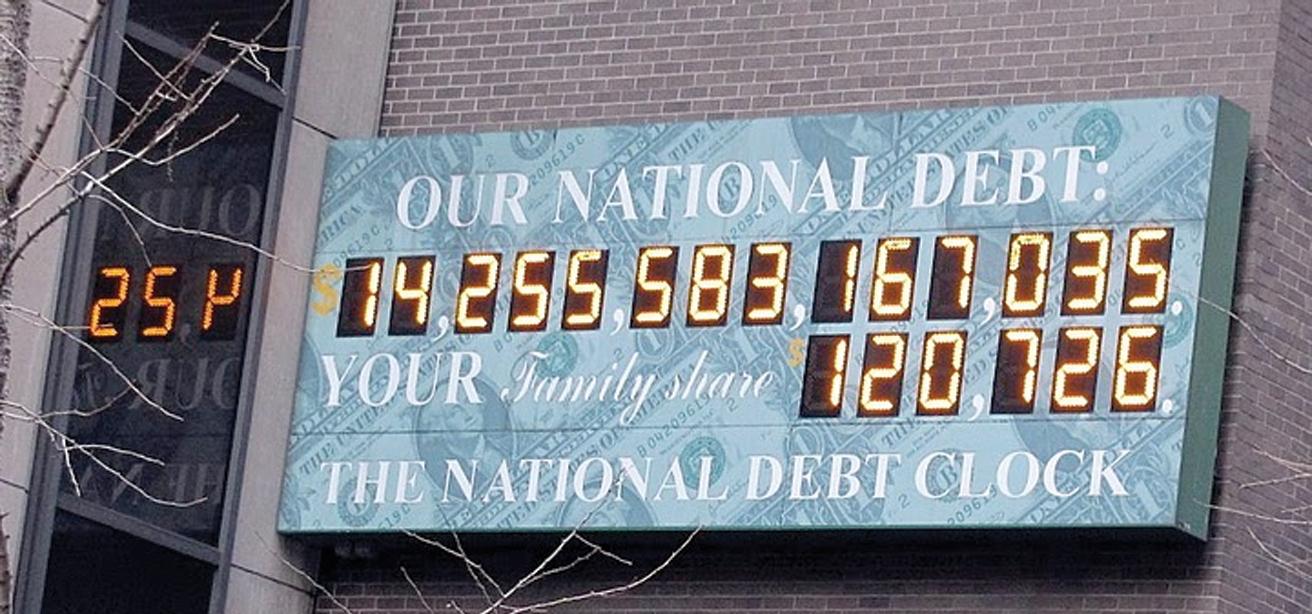 No Trillion Dollar National Debt