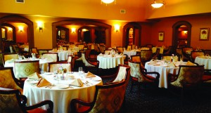 The Carlisle Room, renowned for extensive fine dining menu, offers 12-hour gourmet dining.