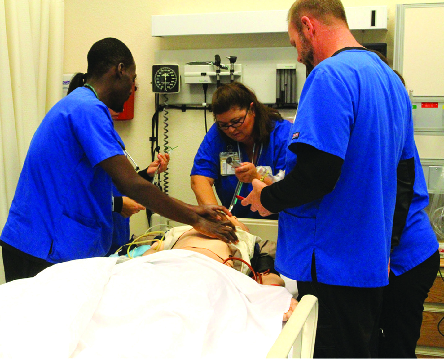 Nursing Simulation Training at Florida SouthWestern State College