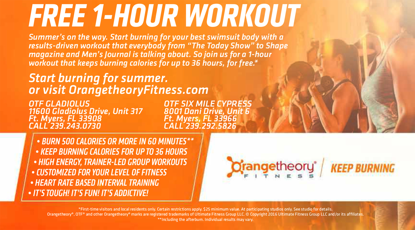 The Orange Zone Keeps You Fit for Summer