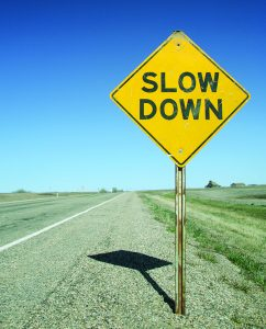 Slowing the Pace of Your Life