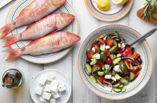 A Mediterranean Diet Lowers Risk for Age-Related Macular Degeneration