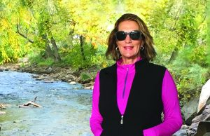 Sallie Landis enjoyed long, pain-free walks – even up and down hills – after undergoing hip surgery for bursitis.