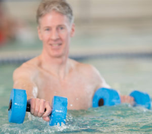 Preventing Falls & Improving  Balance with Aquatic Therapy